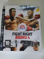 Fight Night: Round 4 PS3 PlayStation 3 Fully Tested Region Free Game disc boxed