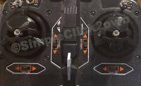 2 Spektrum DX6 DX7 DX8 DX9 TX Gimbal Saver Stick Protector FPV Black