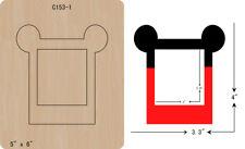 New Photo frame Wooden Die Thick 15.8mm Cutting Dies  Scrapbooking  C-153-1