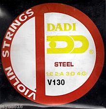Set of Violin Strings Steel Extra Light UK
