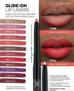 AVON TRUE COLOUR GLIMMERSTICK RETRACTABLE LIP LINER, various colours inc clear