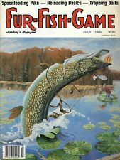 New ListingVintage Fur Fish Game magazine July 1984 Hunting Fishing Outdoor
