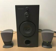 Harman / Kardon HK395 Powered Subwoofer, 2 Satellite, Music,Gamer Speaker System