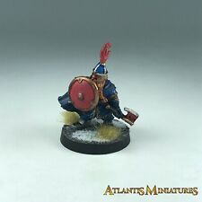 Metal Dwarf Captain - Warhammer / Lord of the Rings X1626