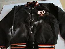Men's NASCAR TONY STEWART Home Depot Reversible Wool/Leather Jacket XL