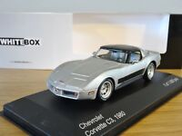 CHEVROLET CORVETTE C3 COUPE 1980  - 1/43 WHITEBOX NEUF