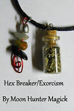Hex Breaker Exorcism Uncrossing Spell Necklace© Pagan Wicca Banishing