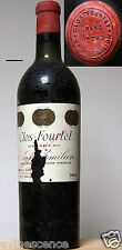 vin CHATEAU CLOS FOURTET 1953 Saint Emilion Grand Cru  Bordeaux rouge 75cl wine