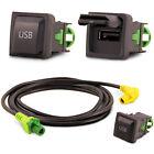 USB Einbau Block Schalter Adapter für VW RCD RNS Radio´s RNS RCD 300 310 315 510