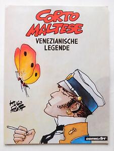 CORTO MALTESE   Venezianische Legende   ComicArt   1. Auflage   Z1   CA1837