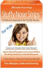 Stuffy Nose Solutions Stuffy Nose Strips for Kids 30 ea