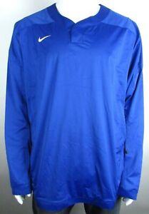 Nike Royal Blue Vapor Long Sleeve Baseball Wind Shirt MSRP$90.00, SIZE M