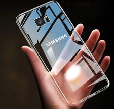 Para Samsung A50, 360 teléfono caso Cuerpo Completo Ultra Delgada Transparente Gel TPU Funda Estuche