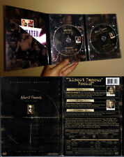DVD 3-Disc ALMOST FAMOUS Cameron Crowe Director's Cut + Stillwater CD OOP R1