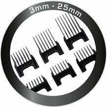 Ermila Clip Cut Combs 3,6, 9,13, 18,25 mm NEW