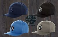 New Volcom One Over Four XFit Mens Flexfit Cap Hat