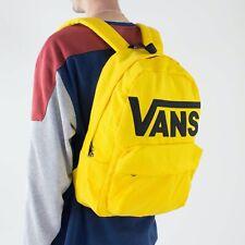 Vans Classic Old Skool Backpack/Rucksack for School/Work/Travel – Yellow