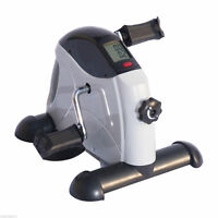 Portable Mini Pedal Exercise Bike Indoor Cycle Fitness Hand Foot w/ LCD