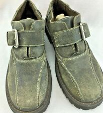 MENS BED STU OXFORDS LEATHER 42. 8.5 GRAY