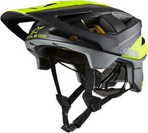 Alpinestars Vector Tech MIPs Pilot Helmet Small Black/Gray 87001191559SM