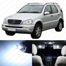 15 x Xenon White LED Interior Light Package For 1998-2005 Mercedes ML Class W163