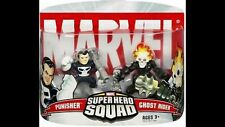 Marvel Superhero Squad Figure Ghost Rider & Punisher-NIP - LoOK! Free Shipping