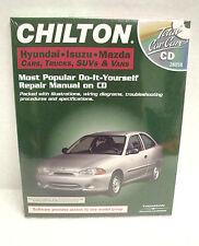 Chilton Total Car Care Hyundia/Isuzu/Mazda Cars/Trucks/SUV's &Vans Repair CD NEW