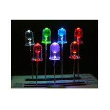 5mm 7 Colors LED (Each Color 15pcs) + Resistor 560 ohm and 100 ohm