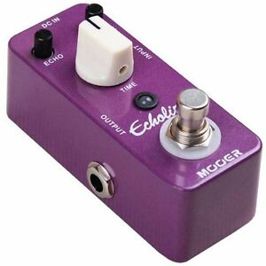 Mooer Micro Compact Echolizer Analog Delay Effects Pedal, MAD2