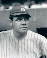 New York Yankees BABE RUTH Glossy 8x10 Photo Baseball Print Poster