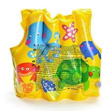 Cool Baby Kids Toddler Inflatable Swimming Pool Fish Swim Safe Vest Life Jacket