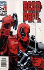 Deadpool 1 1994 NM+(9.6)! Mark Waid First Marvel Work!