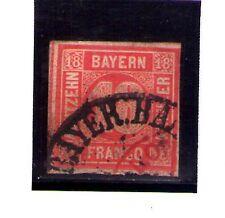 Baviera valor del año 1861-62 (AD-453)