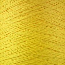 4 plis italien bande fils 500g cône de 10 balles jaune canari Chainette Ruban lumineux