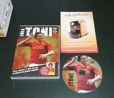 AS ROMA CALCIO: DVD OFFICIAL *LUCA TONI* la storia di un grande Campione *RARO*