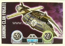 Star Wars Force Attax  Banking Clan Frigate #077