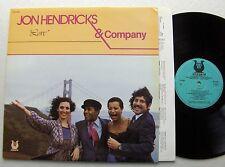 Jon HENDRICKS & COMPANY Love FRENCH LP MUSE Records (1982) vocal jazz - NMint