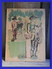 LITOGRAFIA DE MOLINA SANCHEZ (1918-2009) 53 X 36 CM