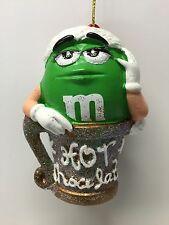 M&M Green Tree Ornament Kurt Adler Holiday Mars Candy Hot Chocolate