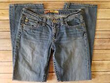 Big Star Hazel Curvy Fit Womens Distressed Bootcut Blue Jeans Tag Size 29 R