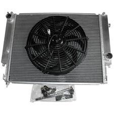"Aluminum Radiator + Slim 14"" FAN For 92-99 BMW E36 Manual Transmission"