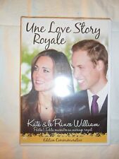 Une love story royale - DVD - KATE TE LE PRINCE WILLIAM - PARTIE 1 - NEUF - VF