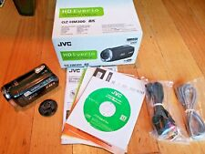 JVC GZ-HM300 Camcorder High Definition 1080P Software Manual Cables Box