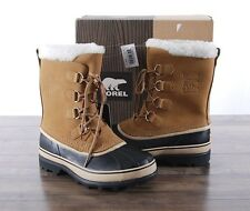 NEW Sorel Women's Winter Caribou Boot Size 10 MED Buff Waterproof NL1005 Boots