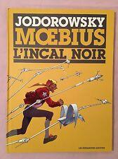 L'incal Noir Tirage limite  numerote BD Grand Format  Jodorowsky Moebius 1500 EX