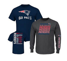 NFL 3-in-1 3 Looks in 1 Tee Shirt Combo~ New England Patriots ~Medium