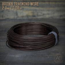 American Bonsai Brown Aluminum Training Wire - 2.0mm - 1 kilogram - 400ft - 1k