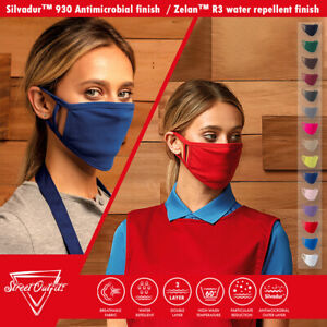 Face Mask Washable Cover Reusable Double Layer Cotton Dust Protection Breathable