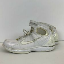 Nike Air Zoom Huarache 2K4 Kobe Basketball 2005 Release White 310315 111 Size 15