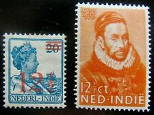 N-I NVPH 171 + 180 Hulpuitgifte & Willem I zeer fraai postfris CW 13,50